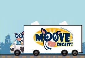 Local Man and Van - Removals - Moove Right - Self Service Available