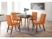 Turney Acacia Round Dining Table BY LIBRA