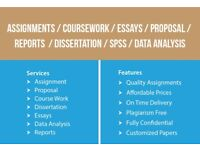 URGENT HELP-ASSIGNMENT/ANALYSIS/IT/COURSEWORK/DISSERTATION/PROPOSAL-WRITING,EDITING AND PROOFREADING