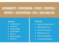URGENT HELP-ASSIGNMENT/ESSAY/COURSEWORK/DISSERTATION/SPSS/PROPOSAL-WRITING,EDITING AND PROOFREADING