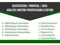Dissertation/Thesis/Proposal/Coursework/Assignment/SPSS/ENGINEERING/ Writing,Editing Proofrading