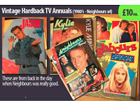 Vintage Hardback TV book - £10 each: Neighbours (Aussie TV show) late 80's