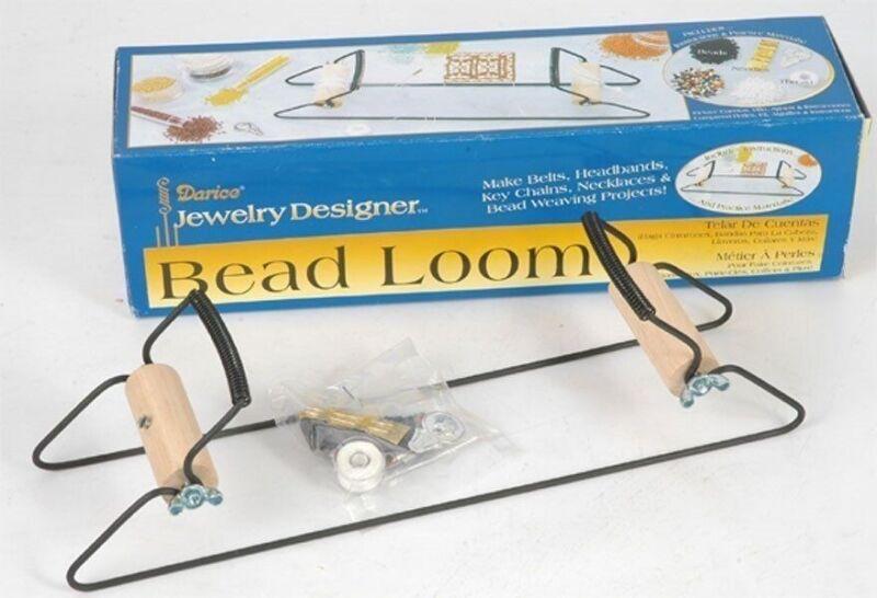 Jewelry Designer BEAD LOOM KIT with Beads, Needles & Thread