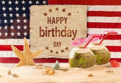 Справочный материал Happy Birthday America Flag