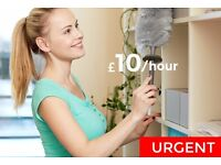 ► Home cleaners in Cambridge | £10/hour | Start this week!