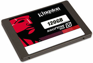 Kingston 120GB SSD V300 SSDnow Solid-State SATA 3 6GB/sec Hard Drive 120G 120 G