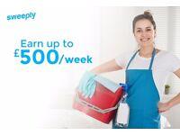 CAMBRIDGE CLEANERS WANTED! Earn £500+ Per Week!