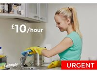 Cleaning jobs in Cambridge - £10/hr - Immediate Start