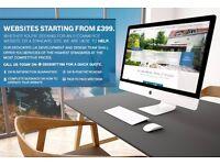 Starting From £399 - Website Design, E Commerce Websites, Static Websites, Website Themes & Hosting