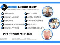 ACHIEVE YOUR FINANCIAL GOALS with Region Accountancy | CALL NOW for a FREE Quote