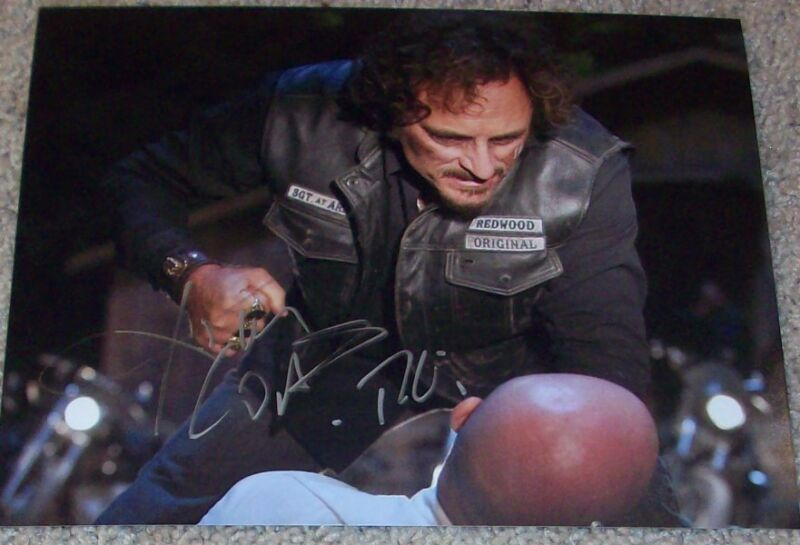 KIM COATES SIGNED SONS OF ANARCHY 8x10 PHOTO B w/PROOF AUTOGRAPH