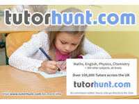 Tutor Hunt Chislehurst - UK's Largest Tuition Site- Maths,English,Science,Physics,Chemistry,Biology