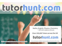 Tutor Hunt New Cross - UK's Largest Tuition Site- Maths,English,Science,Physics,Chemistry,Biology