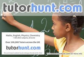 Tutor Hunt South Kensington - UK's Largest Tuition Site- Maths,English,Physics,Chemistry,Biology