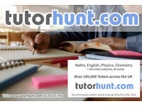 Tutor Hunt Kings Worthy - UK's Largest Tuition Site- Maths,English,Science,Physics,Chemistry,Biology