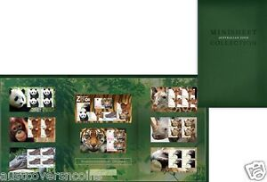 Australia - 2012 Australian Zoos Miniature Sheet Collection - Limited Edition