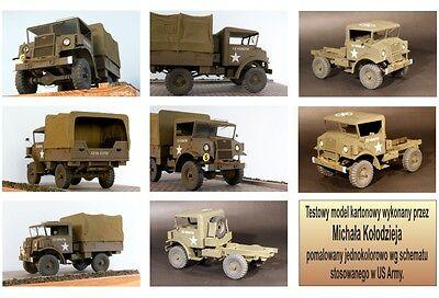 Modelik 04/11 -  Chevrolet 15-CWT (1944) mit Lasercutteilen   1:25