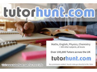 Tutor Hunt Chingford - UK's Largest Tuition Site- Maths,English,Science,Physics,Chemistry,Biology