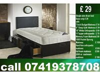 New Double / Single / King Size Bed with Mattress