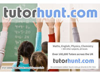 Tutor Hunt Hanwell - UK's Largest Tuition Site- Maths,English,Science,Physics,Chemistry,Biology