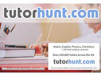 Tutor Hunt West Kensington - UK's Largest Tuition Site- Maths,English,Physics,Chemistry,Biology
