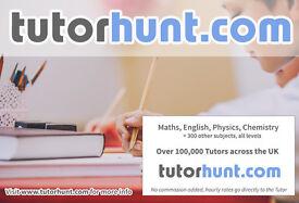 Tutor Hunt Brighton - UK's Largest Tuition Site- Maths,English,Science,Physics,Chemistry,Biology