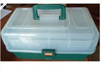 Leeda 3 tray fishing tackle box