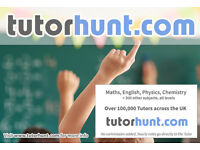 Tutor Hunt Camden - UK's Largest Tuition Site- Maths,English,Science,Physics,Chemistry,Biology