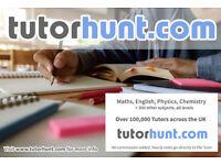 Tutor Hunt Tonbridge- UK's Largest Tuition Site- Maths,English,Science,Physics,Chemistry,Biology