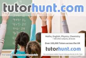 Tutor Hunt Carshalton - UK's Largest Tuition Site- Maths,English,Science,Physics,Chemistry,Biology