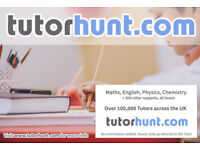 Tutor Hunt Leytonstone - UK's Largest Tuition Site- Maths,English,Science,Physics,Chemistry,Biology