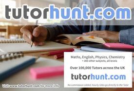 Tutor Hunt Kilburn - UK's Largest Tuition Site- Maths,English,Science,Physics,Chemistry,Biology