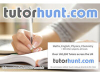 Tutor Hunt Wood Green - UK's Largest Tuition Site- Maths,English,Science,Physics,Chemistry,Biology