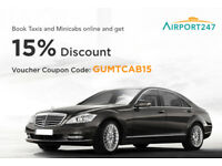 Airport 247 - 15% off London Airport Taxis & Minicabs