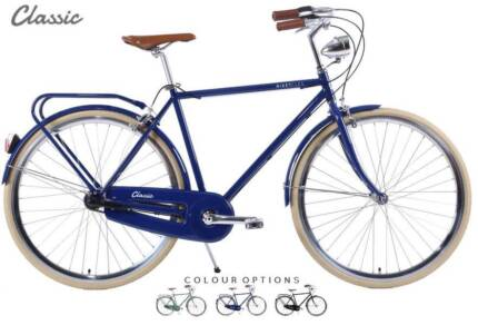 Retro Bicycle | 'Classic' | LED lights, Carrier Rack & Delivery Adelaide CBD Adelaide City Preview