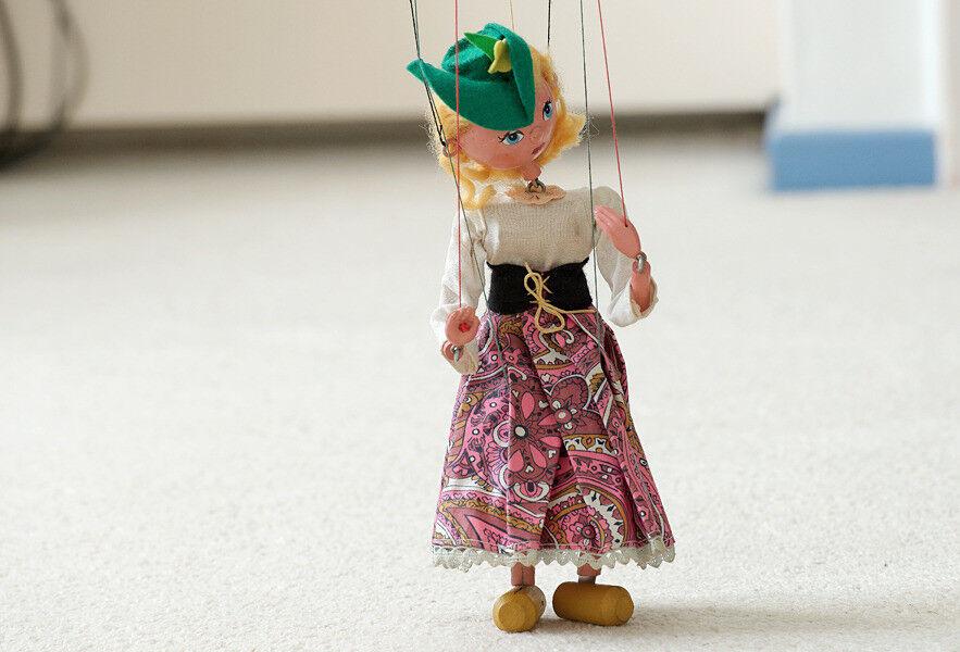 Type SS Mitzi Pelham Puppet with original box
