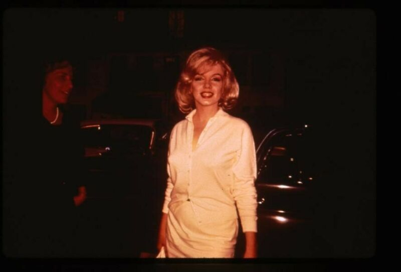 Marilyn Monroe rare Vintage Photo Agency Duplicate 35mm Transparency Candid