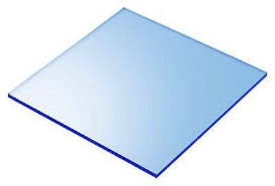 Blue Fluorescent Acrylic Plexiglass Sheet 18 X 12 X 12 9092
