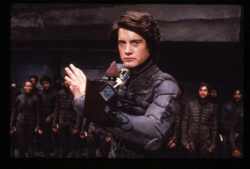 Dune Kyle MacLachlan in fight scene Original 35mm Transparency in stamped mount