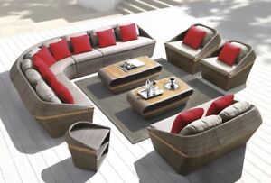 New Arrival! EXCLUSIVE Wicker Rattan SOFA Sets for Sale!