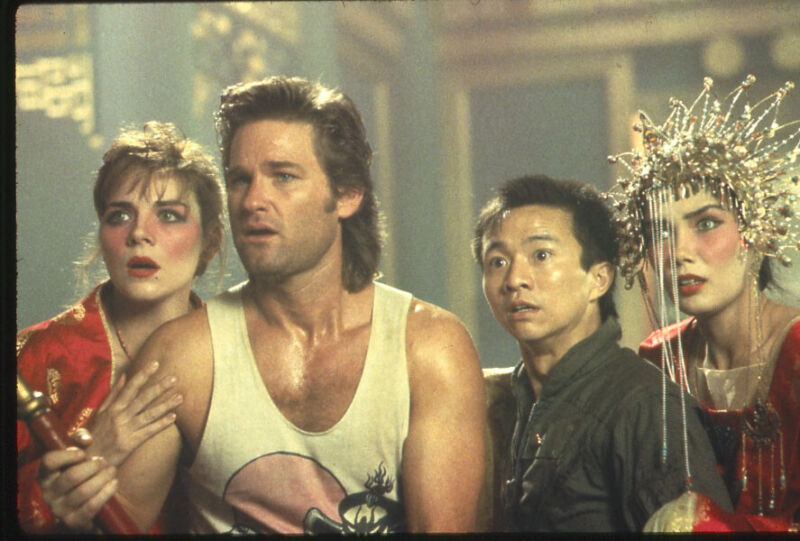 Big Trouble In Little China Kurt Russell Kim Cattrall original 35mm Transparency