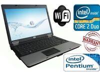 CHEAP HP DUALCORE 2GB RAM 160GB LAPTOP WINDOWS 7 DVD121