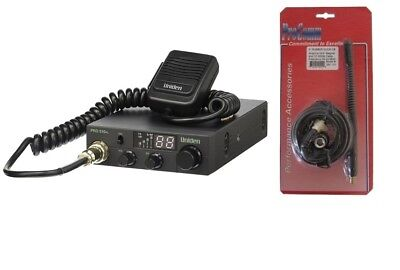 Uniden PRO510XL 40 Channel Compact Mobile CB Radio With Magnet Mount Kit