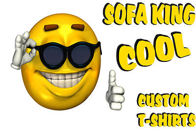 SOFA KING COOL T SHIRTS