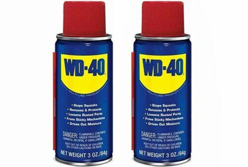 WD-40 3oz Best Multipurpose Lubricant Rust Corrosion Preventer US Seller 2 PACK