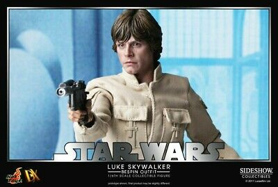 Hot Toys Sideshow Luke Skywalker Bespin DX07 1/6 Star Wars ESB Ltd Ed. Figure