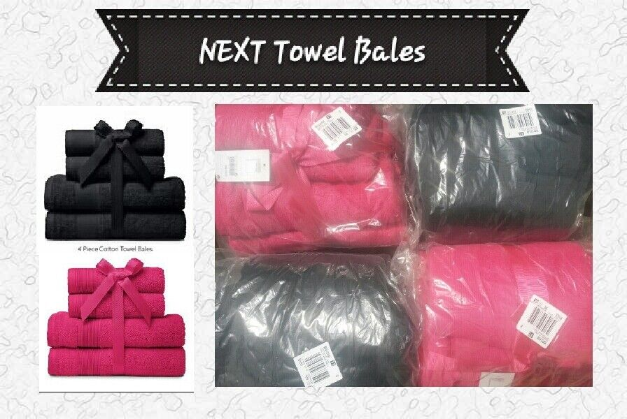 NEXT Towel Bales Bathroom Accessories, New With Tags
