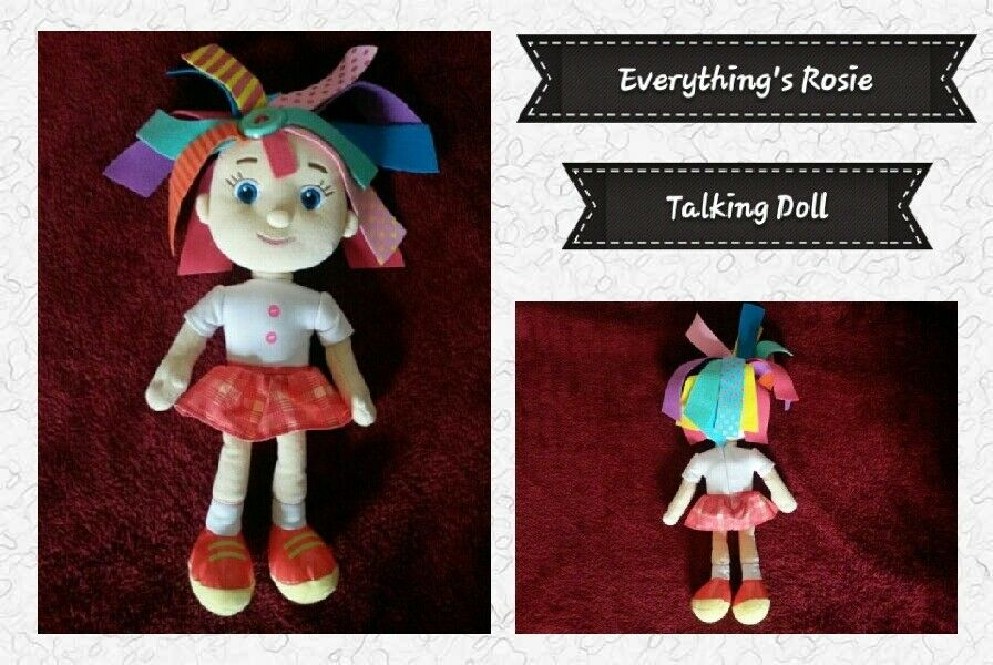 CBeebies Everything's Rosie: My Best Friend Rosie Talking Doll