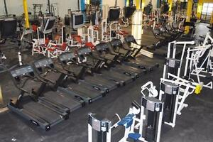 Liquidation Sales of Gym Equipment from a Closed Fitness Club