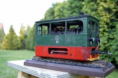 Modelik 09/17 - Straßenbahnlokomotive Tramlok  Hohenzollern  mit Lasercutteilen